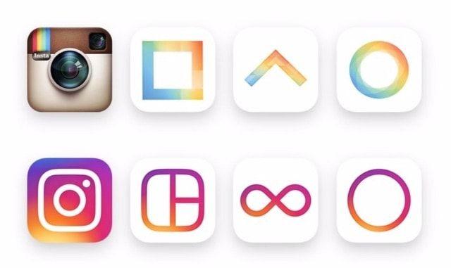 instagram layout boomerang hyperlapse new icon