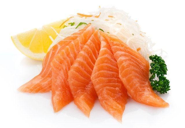 Жирный лосось