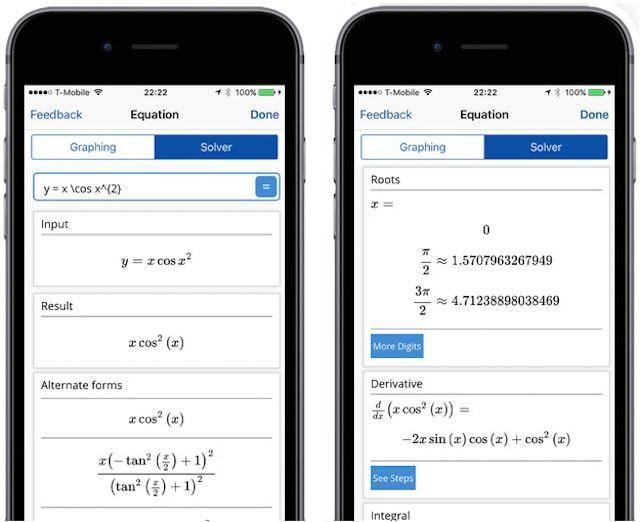 Mathpix - как решать примеры по математике, наведя камеру iPhone
