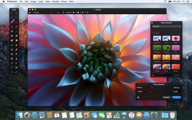 pixelmator для mac os x