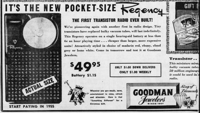 Regency TR-1 Transistor Radio
