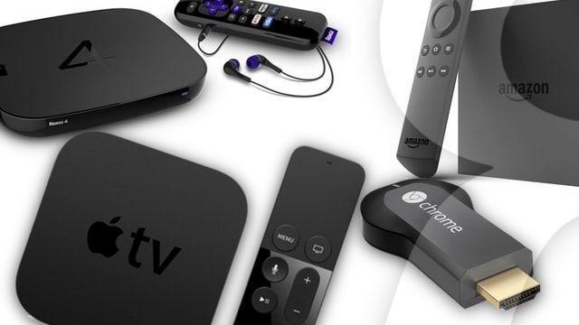 Рейтинг популярности телеприставок: Apple TV, Roku, Amazon Fire TV или Google Chromecast