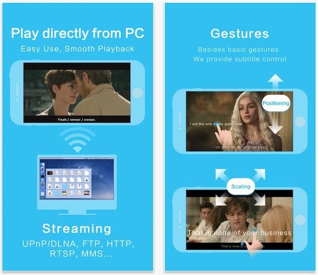 OPlayer - видеоплеер для iPhone и iPad