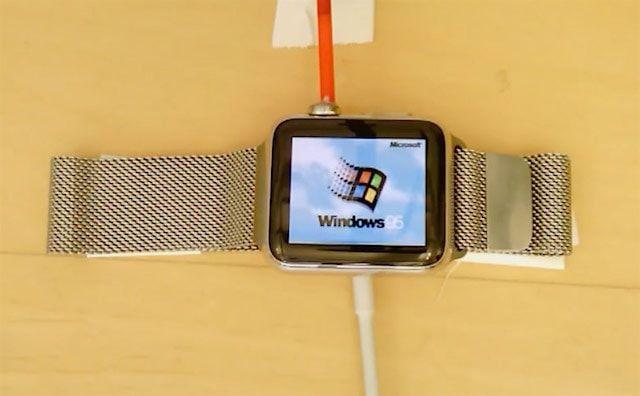 Windows 95 на часах Apple Watch