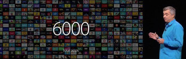 6000 приложений для Apple TV