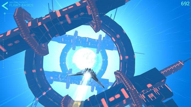 Игра Hyperburner – качественный симулятор высокоскоростного космического корабля для iPhone и iPad
