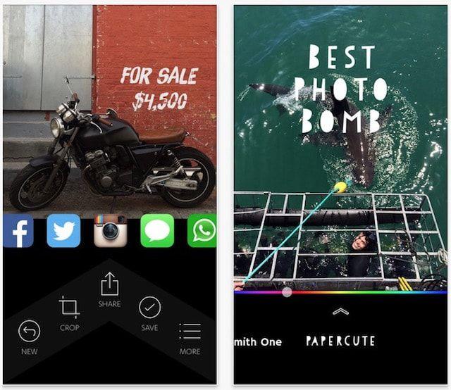 Как добавить текст на фото в iPhone или iPad