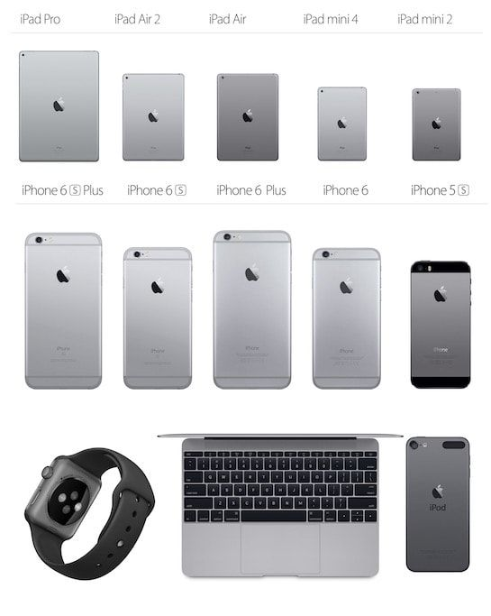 iPhone 7 Space Black and Gray