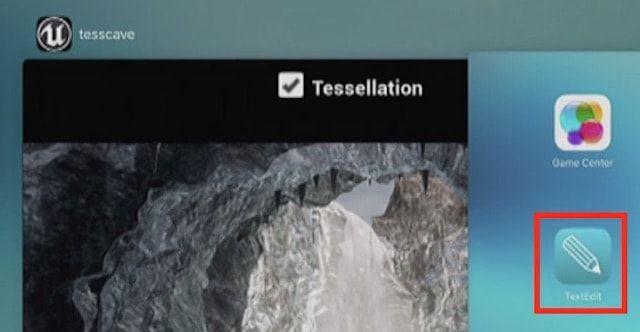Текстовый редактор TextEdit (как в macOS) обнаружен iOS 10 beta