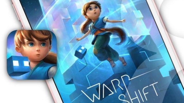 Warp Shift - красочная головоломка для iPhone и iPad от студии FISHLABS
