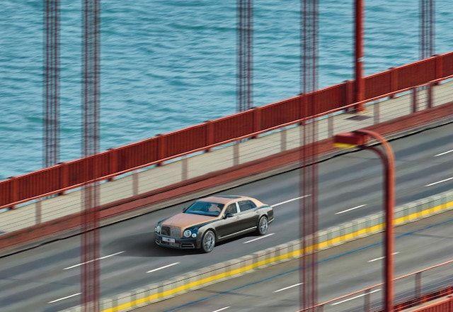 Фото автомобиля Bentley с разрешением 53 000 МП (технология NASA)