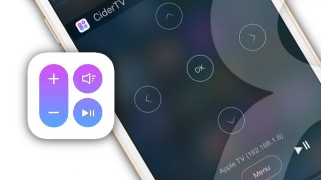 Как управлять Apple TV с помощью виджета CiderTV на iPhone и iPad