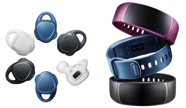 Новинки Samsung: беспроводные наушники Gear IconX и фитнес-трекер Gear Fit 2