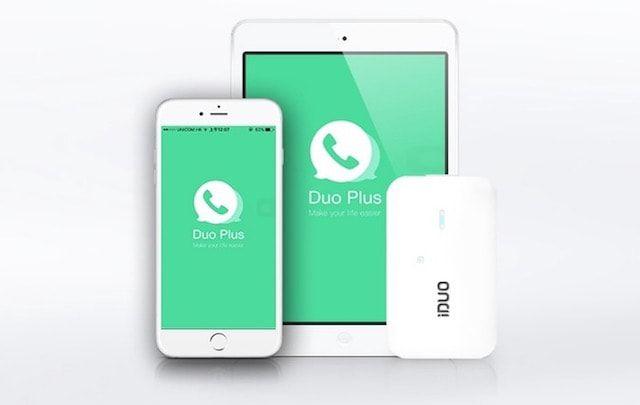 iDuo – устройство размером с кредитную карту, позволяющее использовать две SIM-карты в одном iPhone