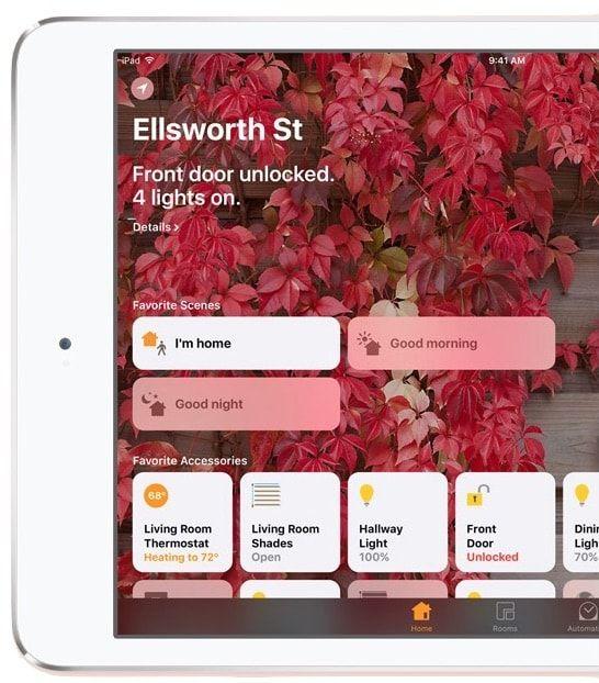 Управление умным домом в iOS 10