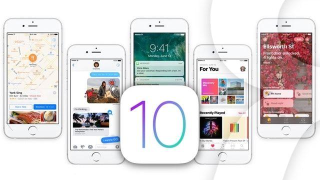 На какие iPhone и iPad можно установить iOS 10