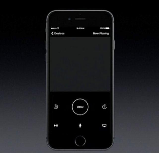 iPhone как пульт для Apple TV