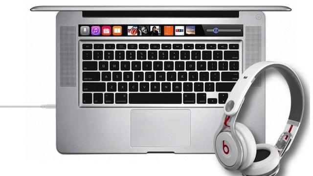 Концепт MacBook с OLED-панелью