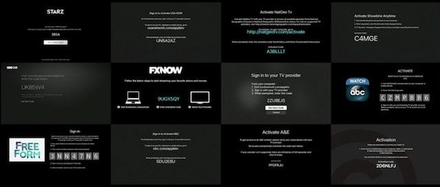 подписки на каналы для Apple TV