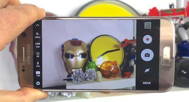 Снято на Galaxy S7 и S7 edge