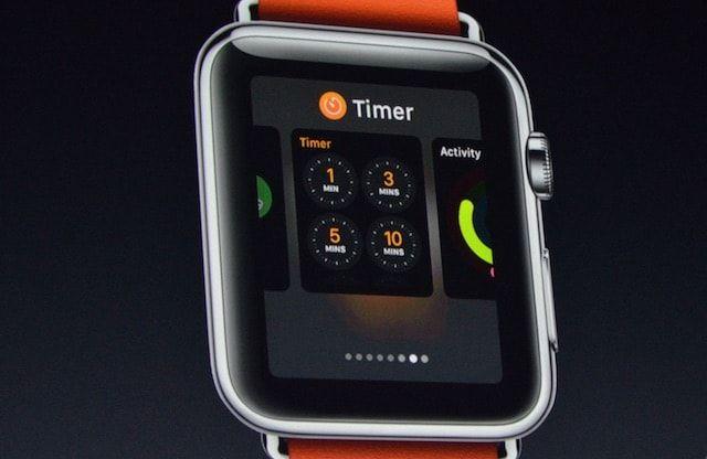 watchOS 3 - док многозадачность в Apple Watch