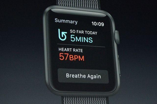 watchOS 3 breath