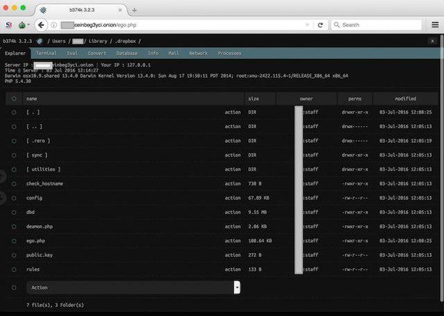 Backdoor.MAC.Elanor - вирус на Mac
