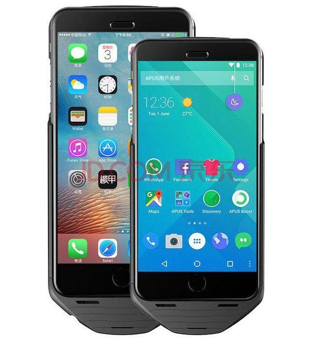Mesuit - чехол, позволяющий установить Android на iPhone
