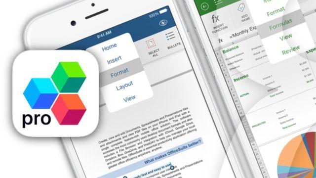 OfficeSuite Pro - редактор документов Word, Excel для iPhone и iPad