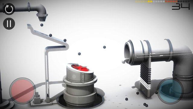 Игра Perchang для iOS - отличная физическая головоломка с шариками