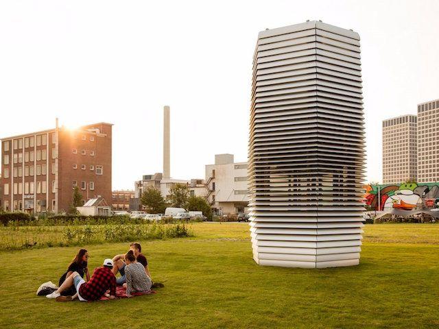 Smog Free Tower - легендарный пекинский смог превратится в ювелирные украшения