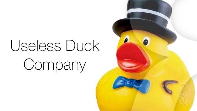 Useless Duck Company и его гениальные и бесполезные девайсы (видео)