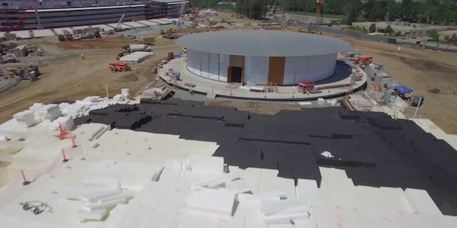 Apple Campus 2 - новая штаб-квартира