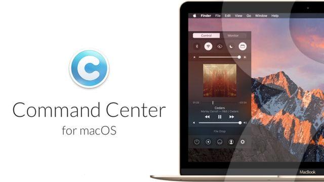 Command Center - Пункт управления из iOS на Mac