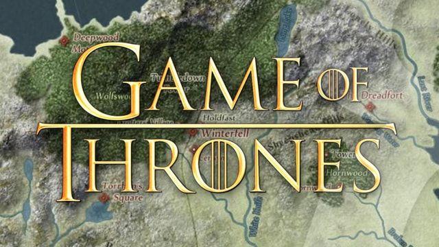Карта Игры престолов