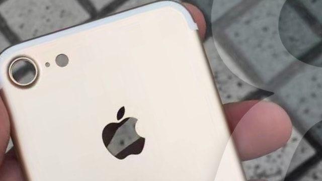 Качественная фотография корпуса iPhone 7