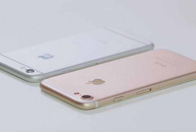 iPhone 7 vs iPhone 6s