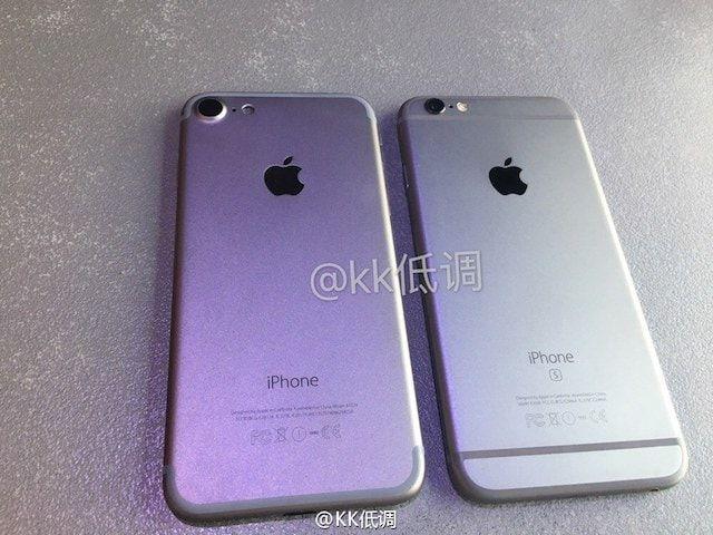 Чем внешне отличается iPhone 7 от iPhone 6s