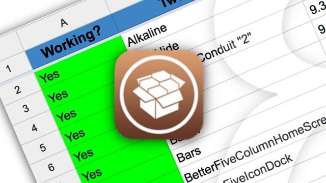 Список твиков из Cydia, совместимых с iOS 9.2 - iOS 9.3.3