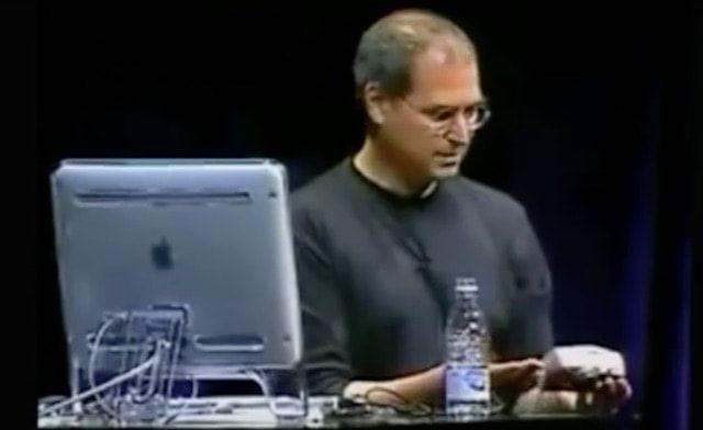 Стив Джобс злится на презентации Apple