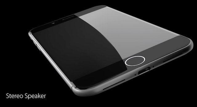 Концепт iPhone 8 с корпусом из сапфирового стекла и датчиком Touch ID