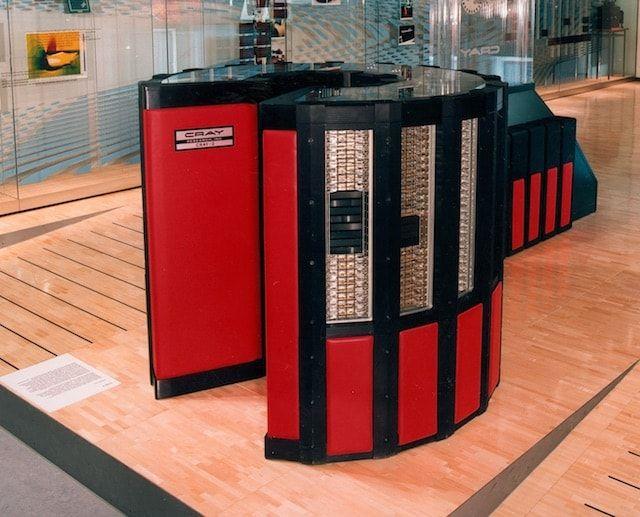 Суперкомпьютер Cray 2