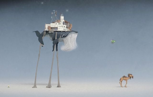 Игра Flewn – история о приключениях кита на ходулях для iPhone и iPad
