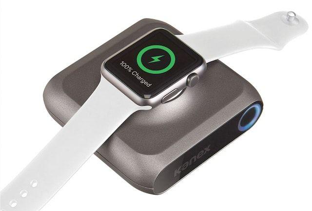 GoPower Watch - миниатюрный внешний аккумулятор для Apple Watch