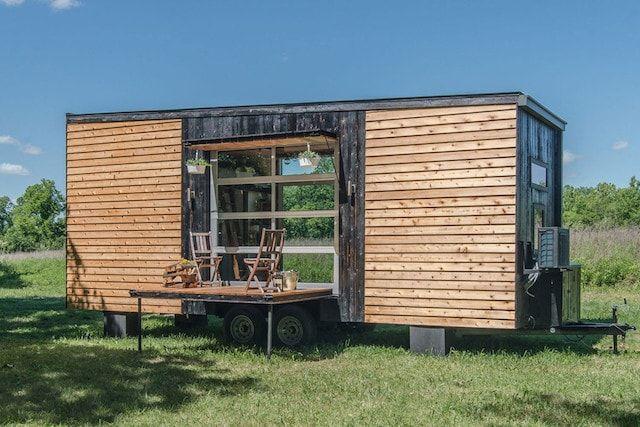 The Alpha Tiny House – крошечный инновационный дом на колесах