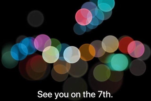 Apple разослала приглашения на презентацию iPhone 7