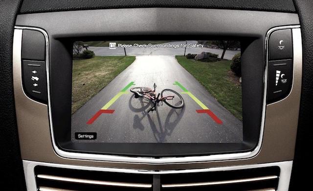 камеры заднего вида в машинах будущего
