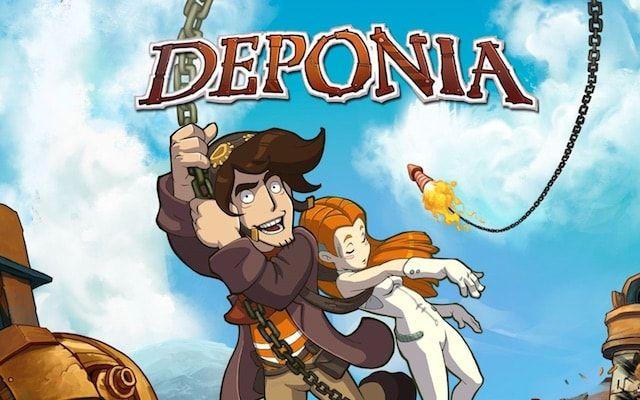 Игра Deponia - красочный и увлекательный квест для iPad и Mac