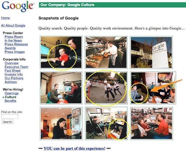 google in 2001