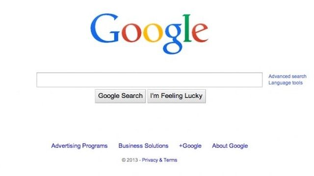 Google updated the logo in 2013